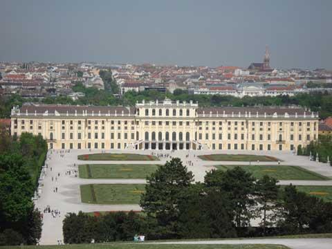 奥地利维也纳美泉宫