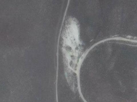 Google Earth下的鬼脸灵异