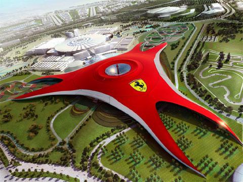 阿联酋法拉利汽车主题公园